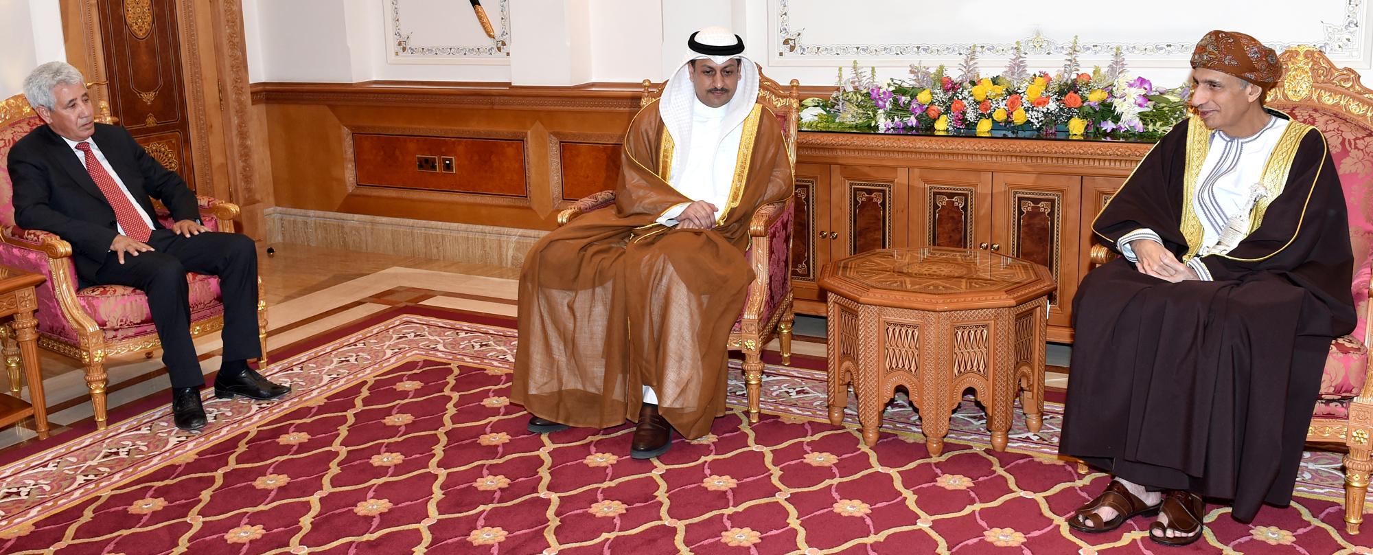السيد فهد يستقبل رؤساء هيئات وجمعيات ونقابات المحامين في الدول العربية