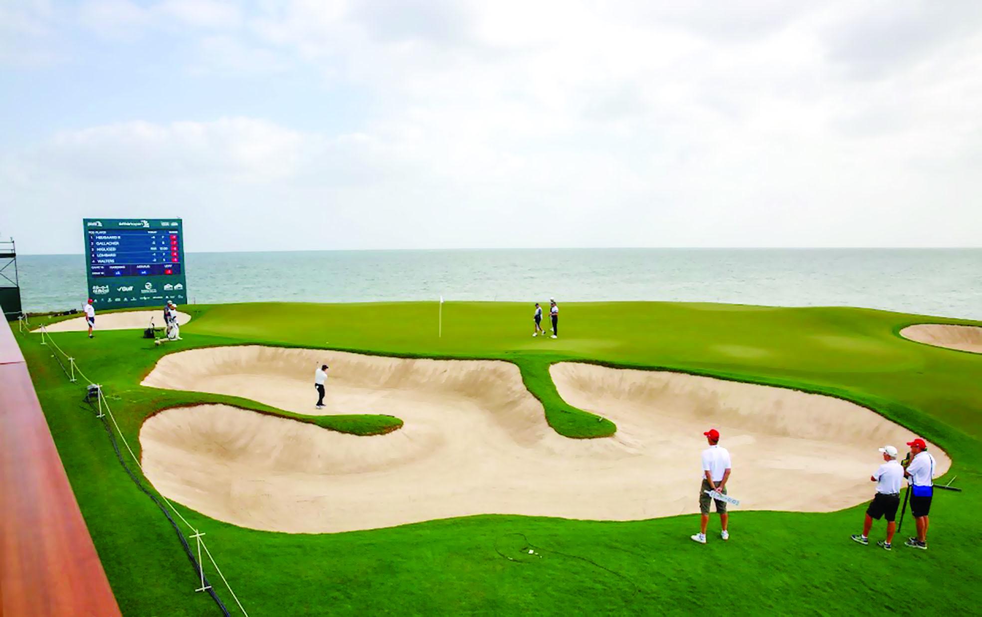 غدا... ختام بطولة عمان المفتوحة للجولف 2020