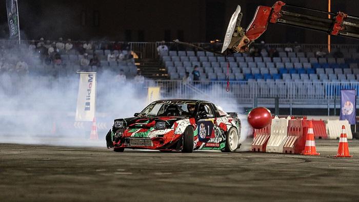 'King of Drift' Haitham Al Hadidi wins Oman qualifiers for Red Bull Car Park Drift