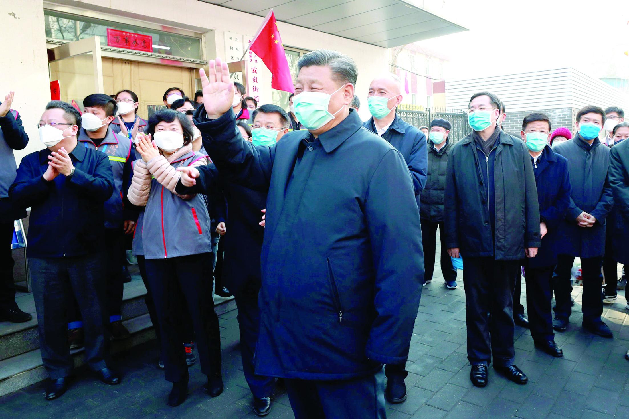 """شينخوا: خبراء عمانيون: زيارة الرئيس الصيني إلى ووهان مؤشر على سيطرة الصين على """"كورونا"""""""