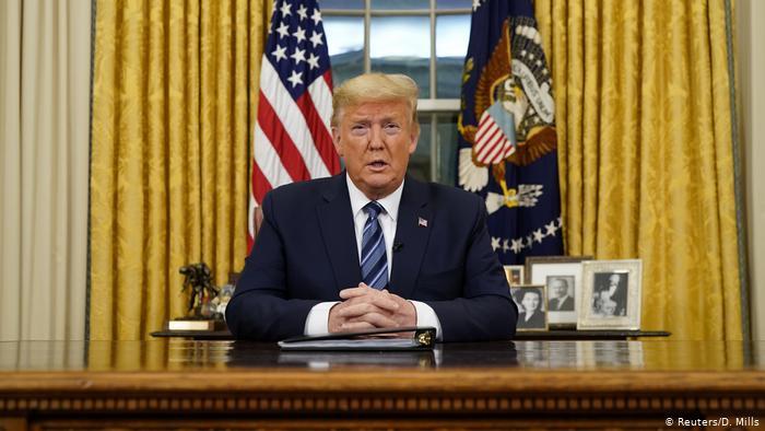 DW: قلق أوروبي من عواقب قرار ترامب بتعليق دخول الأوروبيين إلى بلاده