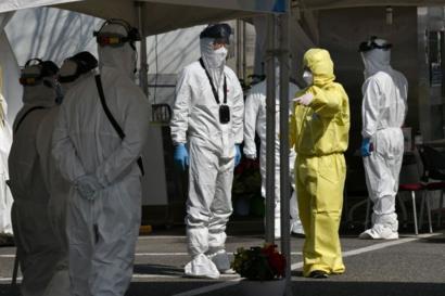 انخفاض معدل الإصابات الجديدة بفيروس كورونا في كوريا الجنوبية