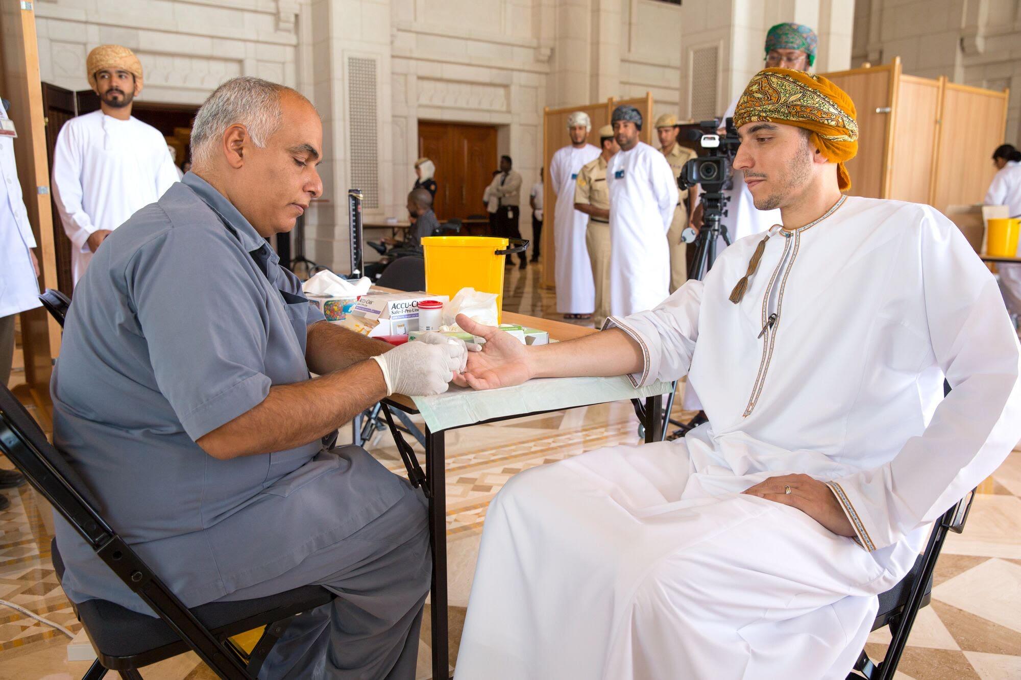 دار الأوبرا السلطانيّة مسقط تنظّم حملتها السنويّة السابعة للتبرع بالدم