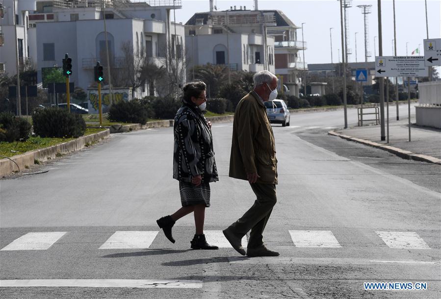 Coronavirus cases in Italy reach 53,578, death toll at 4,825