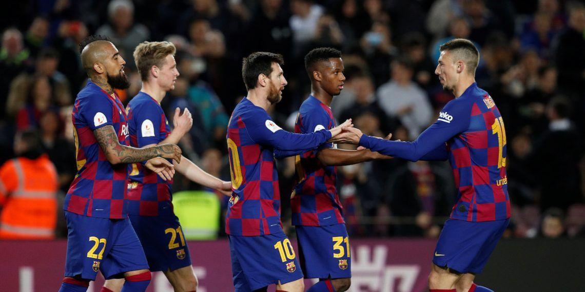 برشلونة يخفض رواتب لاعبيه بسبب فيروس كورونا