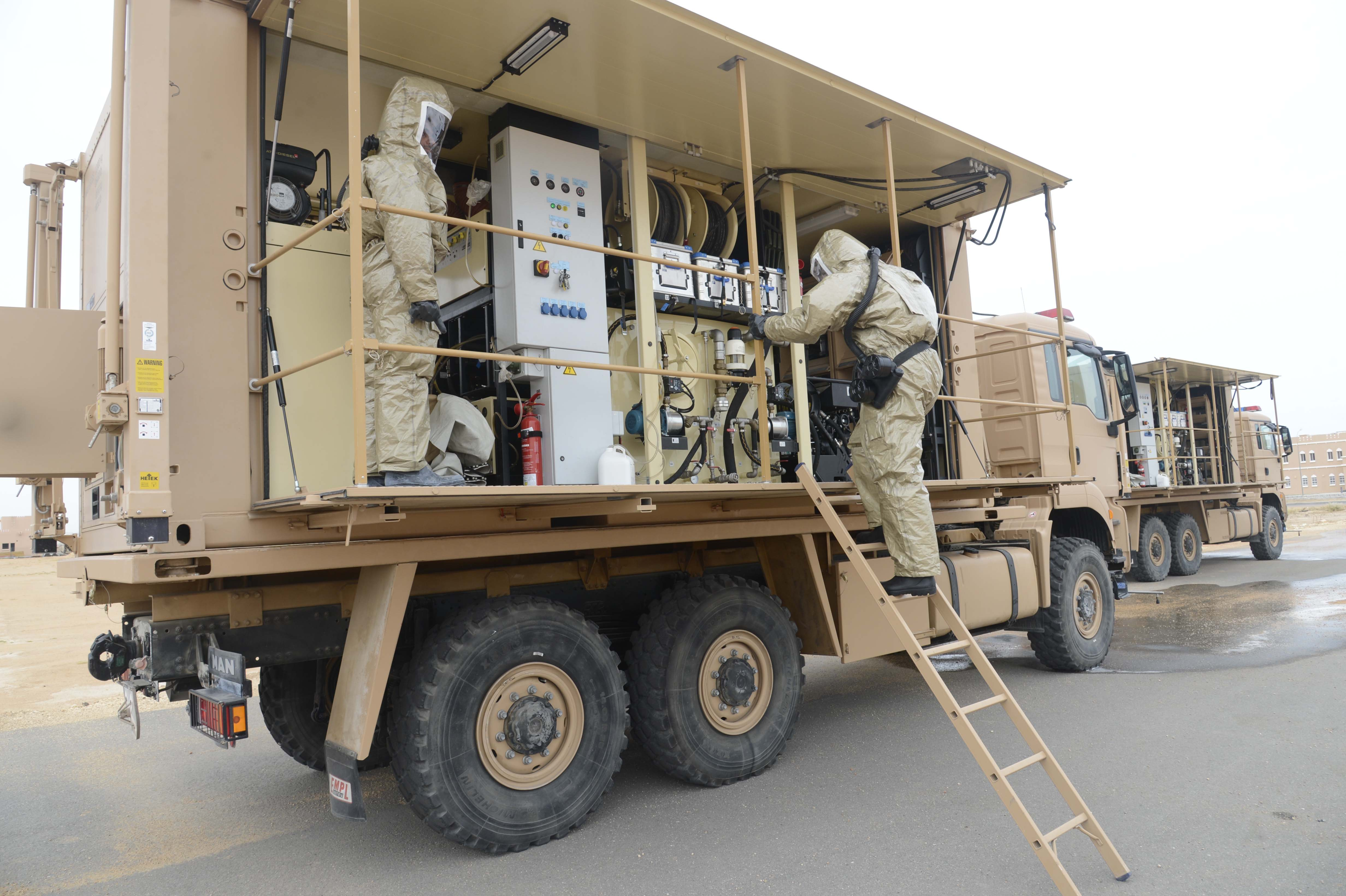 Royal Army of Oman continues sterilisation efforts