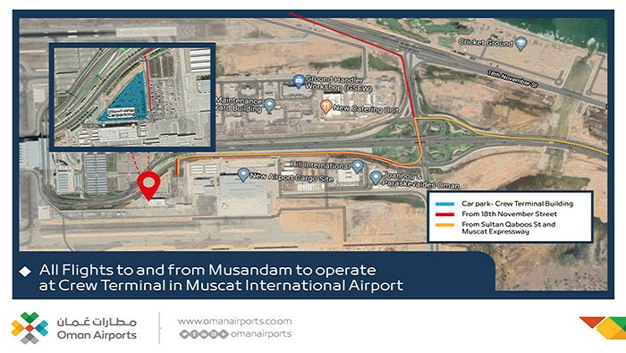 Oman Airports to run two trials for Musandam flights
