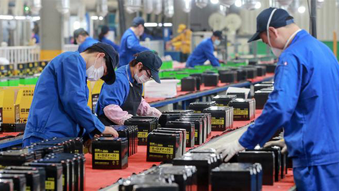 China manufacturing rebound provides sign of post-coronavirus hope