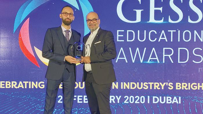 Chairman of Indian School Board wins special jury award