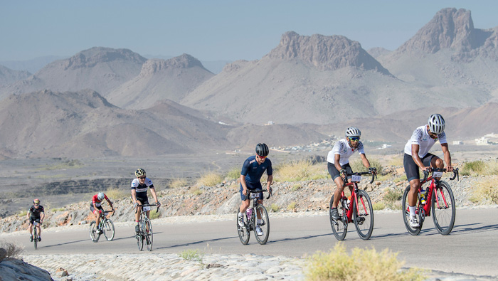 Stage 2 of Haute Route Oman provides another stiff mountain challenge