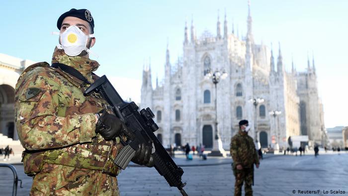 Italy imposes region-wide coronavirus quarantine in Lombardy