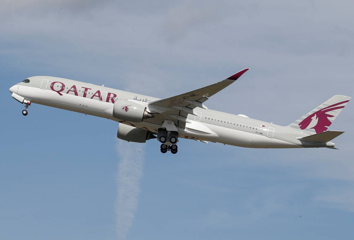 Qatar Airways transported students, citizens on a commercial agreement