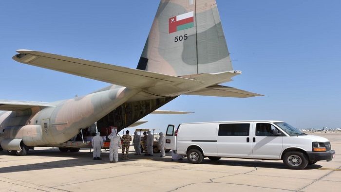 Royal Air Force of Oman operates special flight