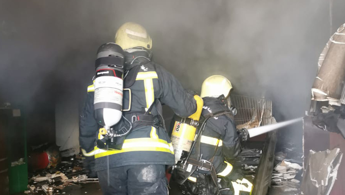 Firefighters continue efforts to douse fire in Oman food store