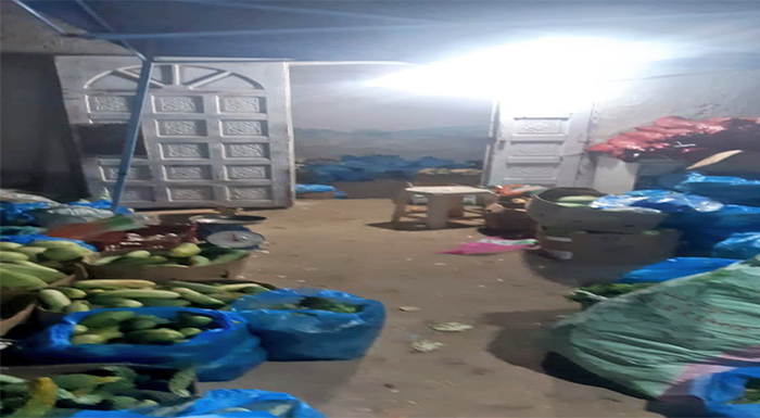 Inspectors confiscated food items deemed unfit for consumption
