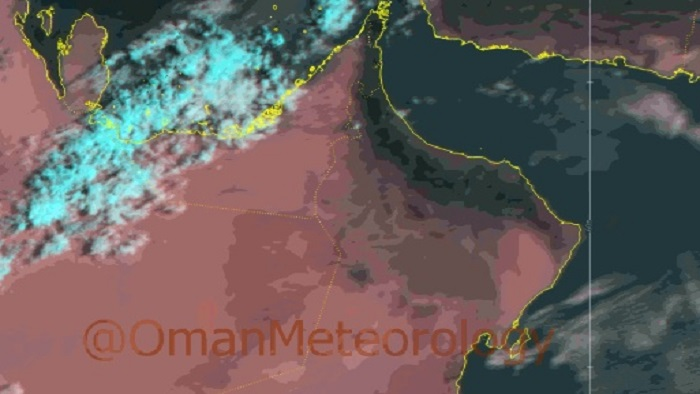 Some parts of Oman to receive scattered rainfall