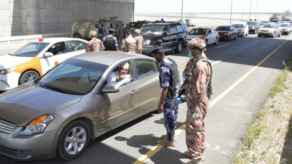 Covid-19: Control points halted between governorates, says ROP