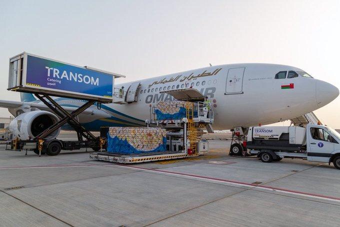 الطيران العماني يسير 8 رحلات لتوفير كافة الاحتياجات الأساسية