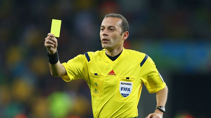 Football players to be give yellow card for spitting on field: ONA