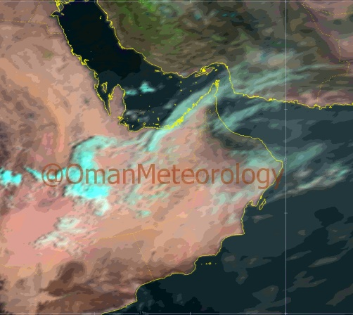 Clear skies forecast for Oman