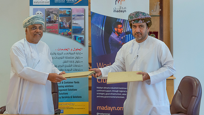 Madayn signs agreement with Al Madina Logistics Services