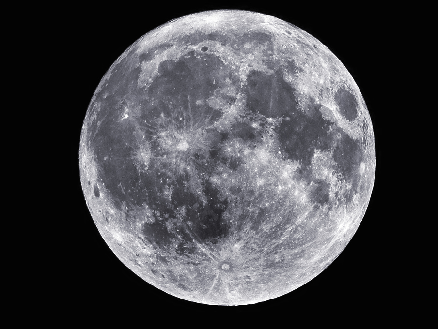 Staying at home? Don't forget to watch the pink moon tonight