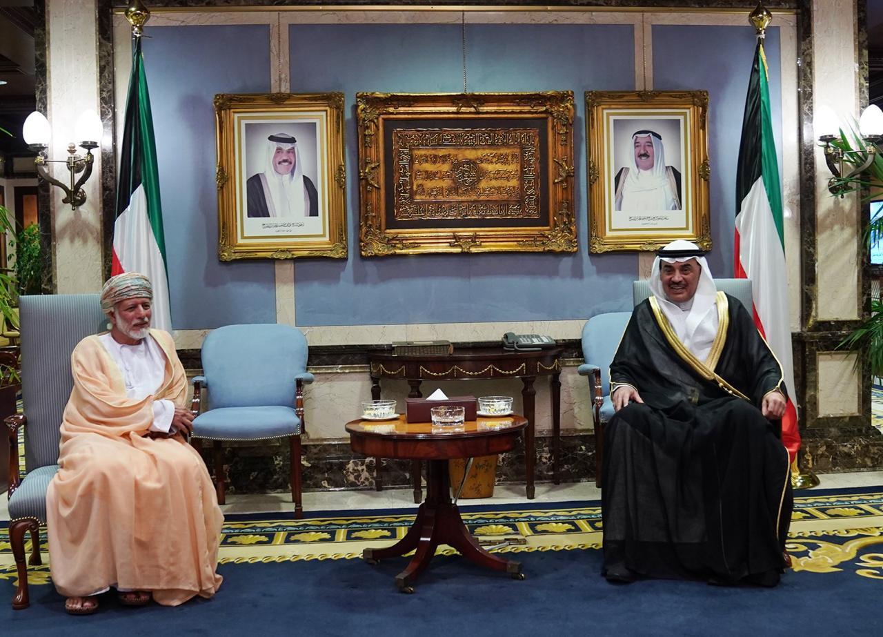 رسالة من جلالة السلطان المعظم إلى أخيه سمو أمير دولة الكويت
