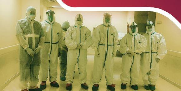 مستشفى البريمي ينجح بإجراء عملية جراحية لمريض مصاب بفيروس كورونا