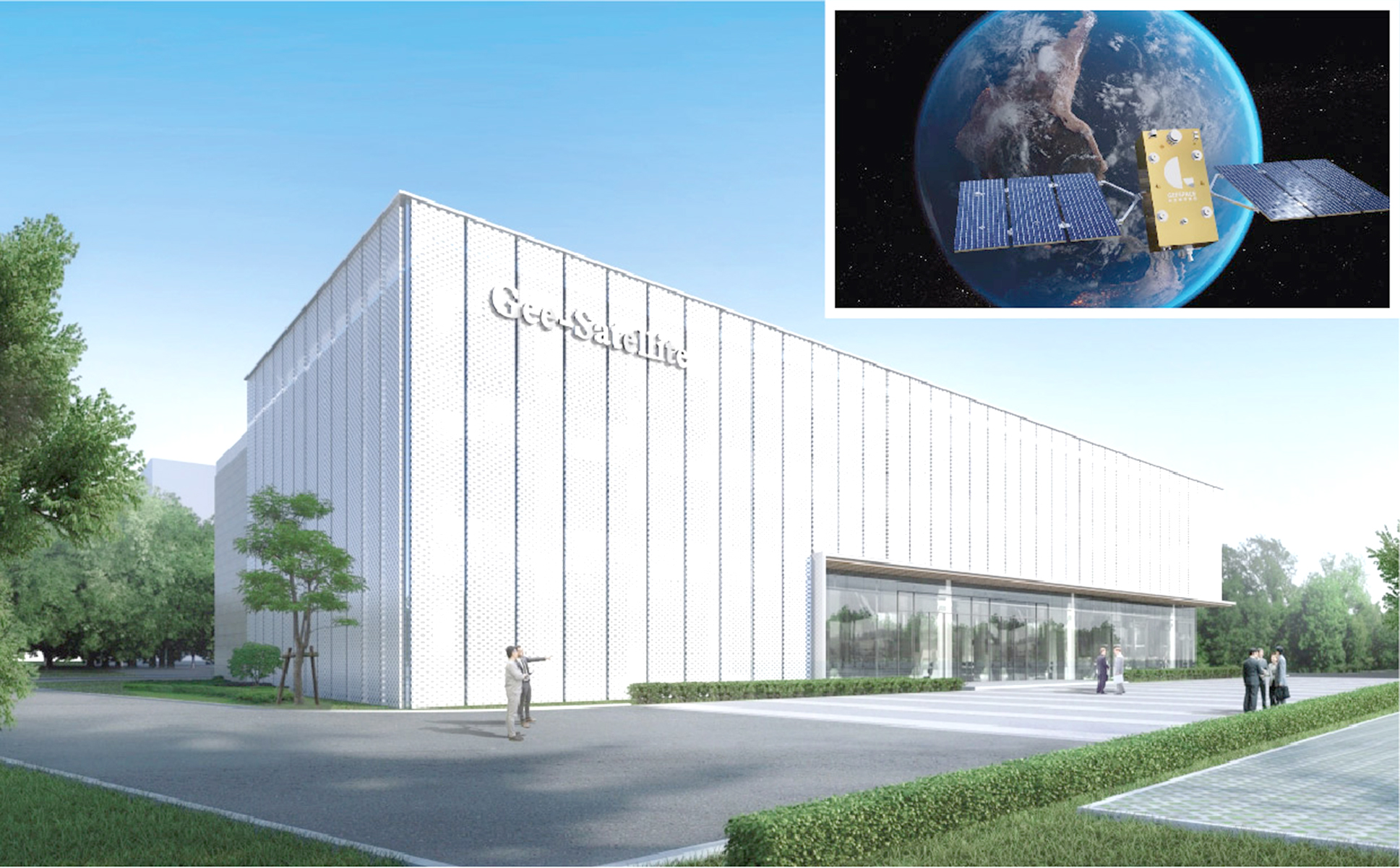 جيلي تشحن أول قمرين صناعيين إلى مركز جيوغوان لإطلاق الأقمار الصناعية