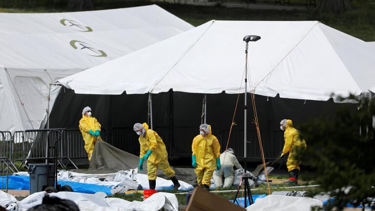أكثر من 600 حالة وفاة و20 ألف إصابة جديدة بكورونا في الولايات المتحدة
