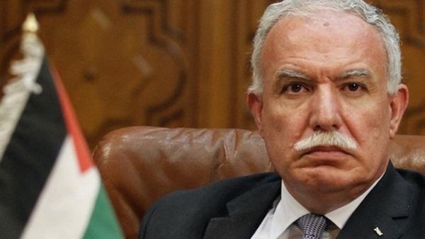 وزير خارجية فلسطين: لن نقبل بالعيش على غير أرضنا