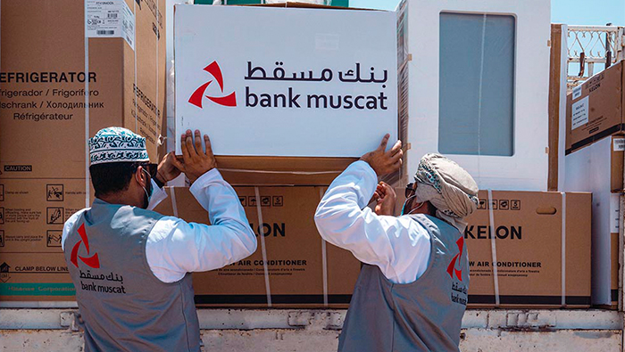 Bank Muscat's Tadhamun programme to support 168 families in 2020