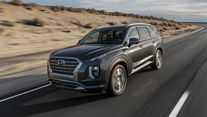 Hyundai Palisade receives 5-star safety rating from NHTSA
