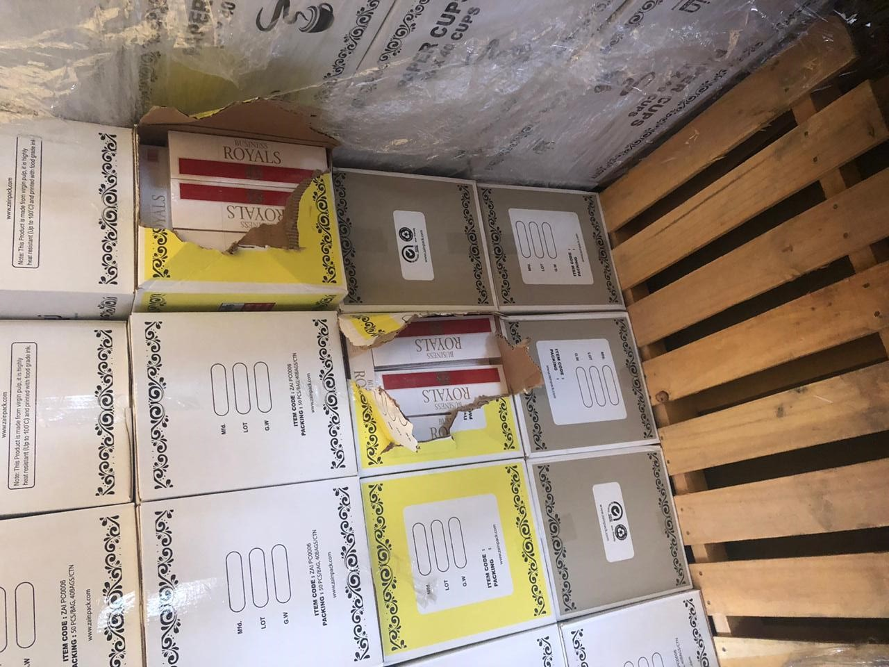Attempt to smuggle cigarettes into Oman foiled
