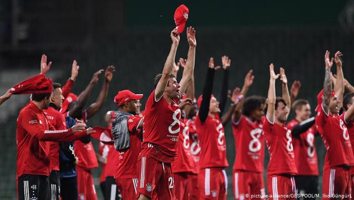 Bayern record 1-0 win over Bremen to lift 30th Bundesliga title