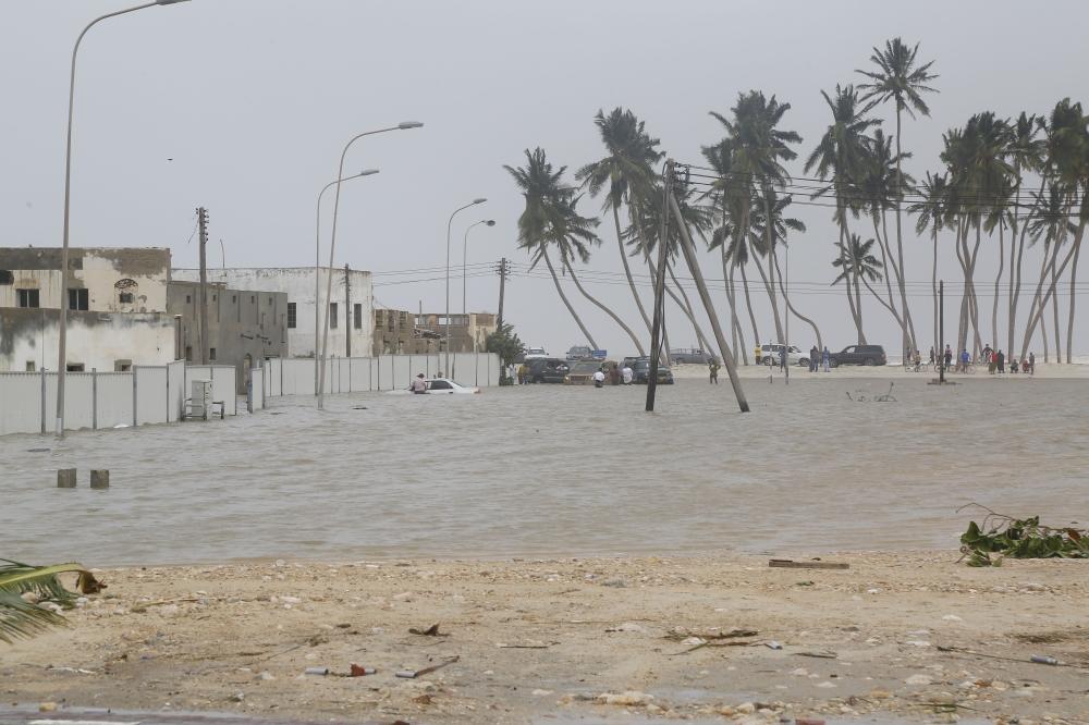 Rainfall amounts in Oman exceed 2018 cyclone Mekunu
