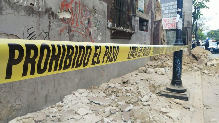 Powerful 7.5-magnitude quake rocks Mexico