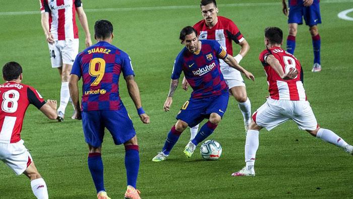 Rakitic goal takes Barca to La Liga top in Spain
