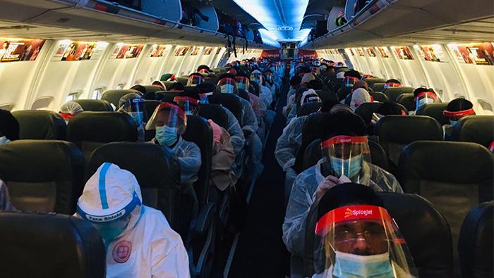 Khimji's House of Travel facilitates commercial charter flight for KMCC Salalah