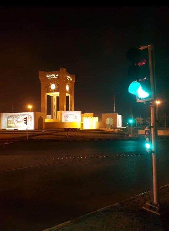 غدا..افتتاح الإشارات الضوئية بدوار برج الصحوة