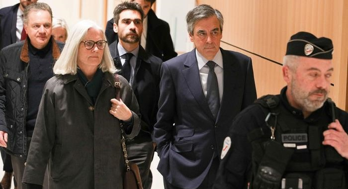 French court finds ex-Prime Minister Francois Fillon guilty of fraud