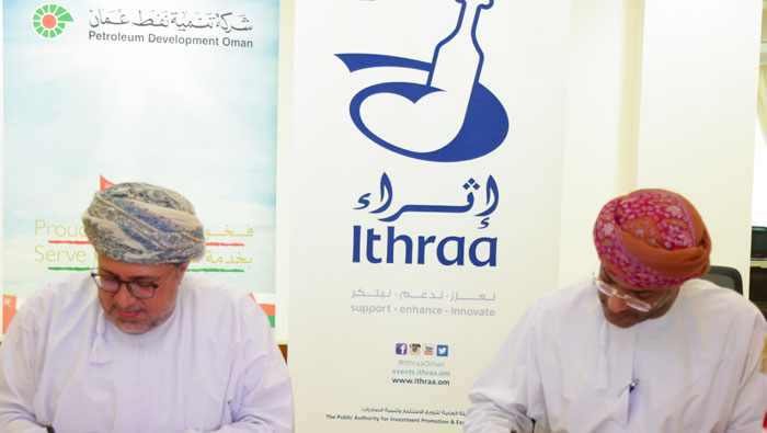 Ithraa, PDO sign pact to boost Oman's business ecosystem