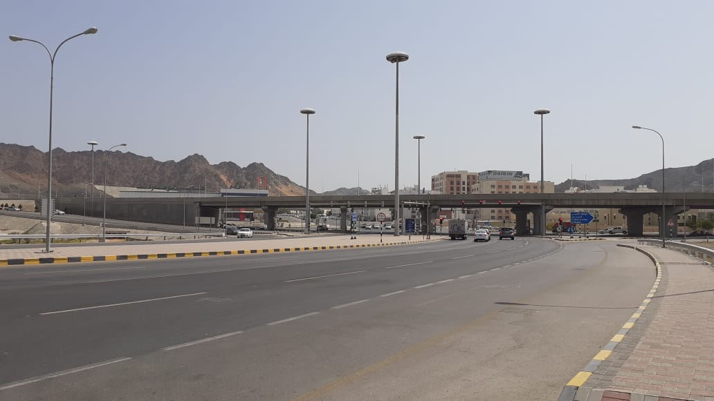 In Pictures: Checkpoints lifted in many parts of Wilayat Muttrah