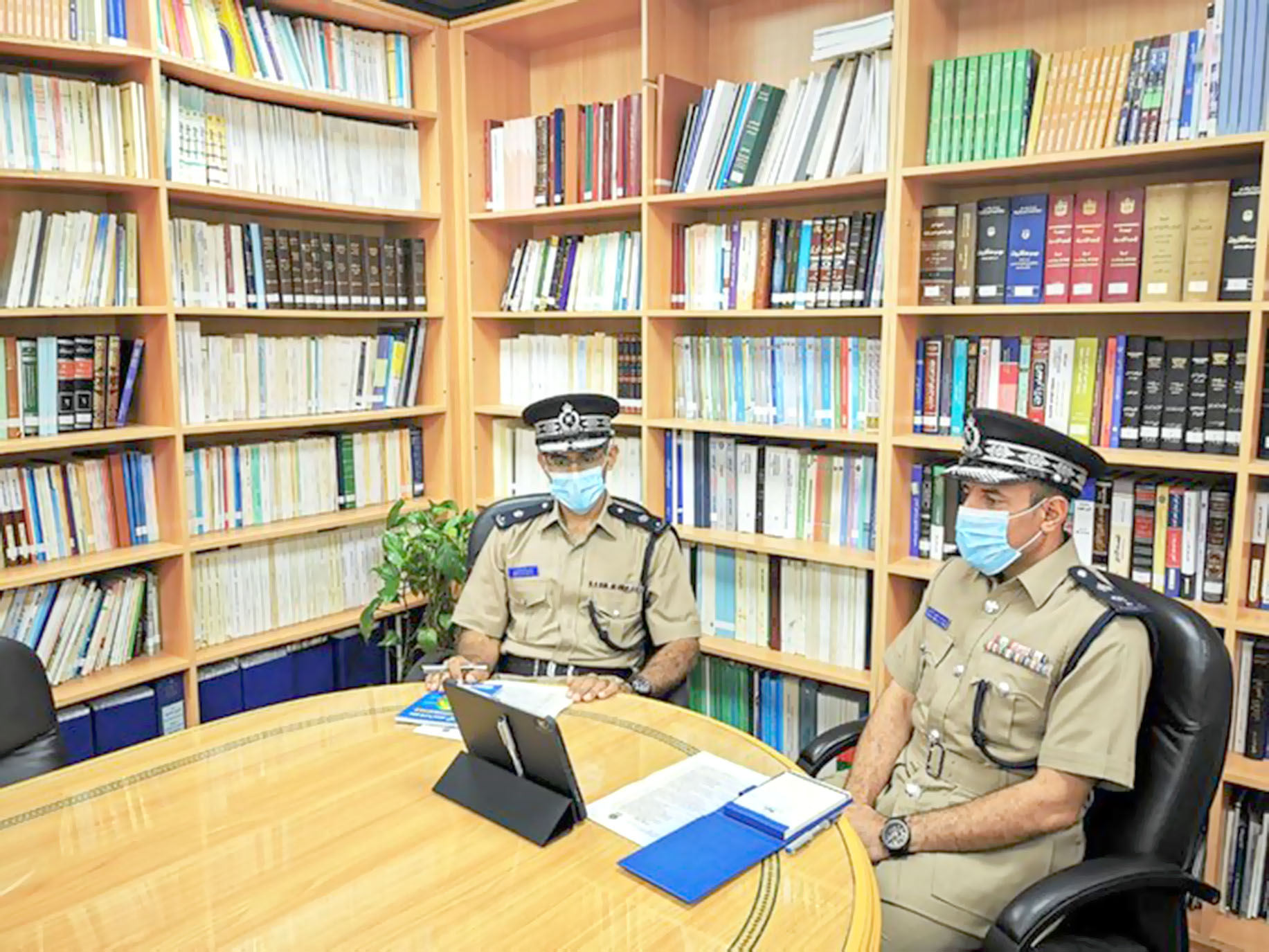 الشرطة تشارك في اجتماع الأمانة العامة لمجلس وزراء الداخلية العرب