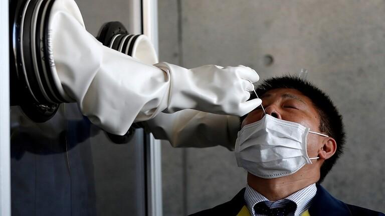 اليابان تتوقف عن إجراء الفحوص الشاملة للكشف عن إصابات كورونا