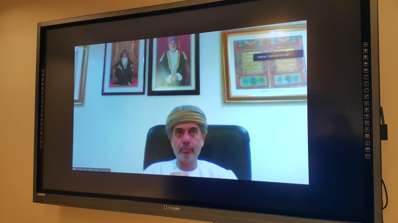 السلطنة تشارك في اجتماع افتراضي لإدارات معارض الكتاب العربية