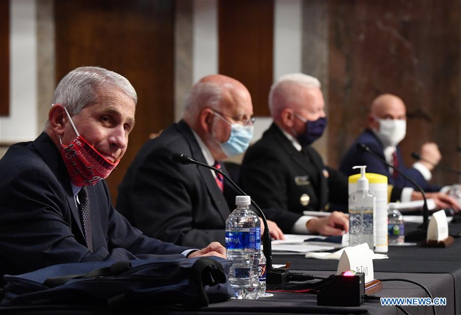 COVID-19 cases could go up to 100,000 per day in U.S., Fauci warns