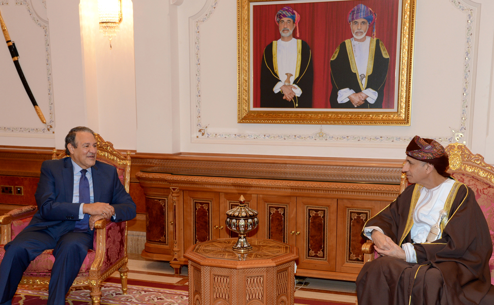 السيد فهد بن محمود يستقبل سفير جمهورية العراق