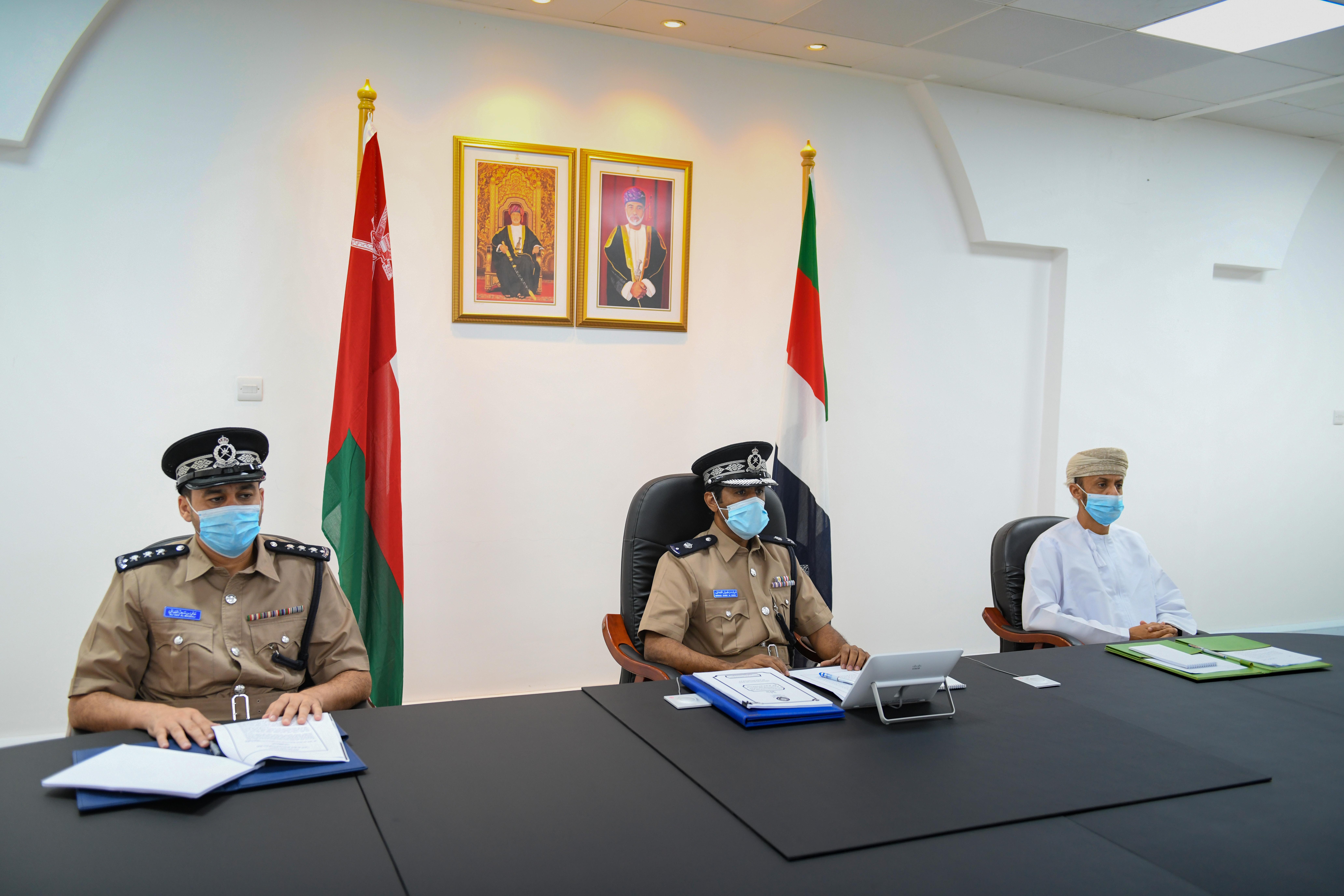 الشرطة تشارك في اجتماع لمجلس وزراء الداخلية العرب