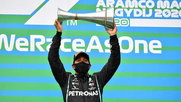 Lewis Hamilton wins eighth F1 Hungarian GP